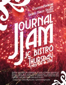 Journal Jam Flyer 05.5.16